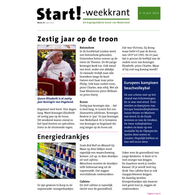 Start!-weekkrant